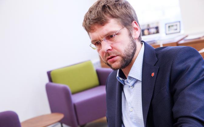 Лидер социал-демократов Евгений Осиновский.