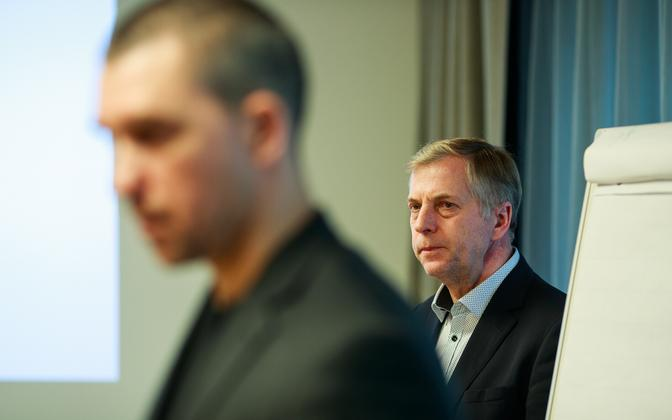 Aigar Kallas and Margus Kohava (right) of Est-For Invest.