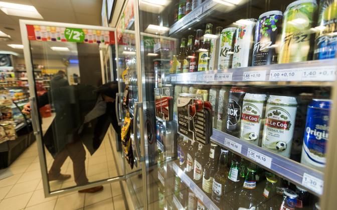 Алкоголь в Эстонии продолжает дорожать.
