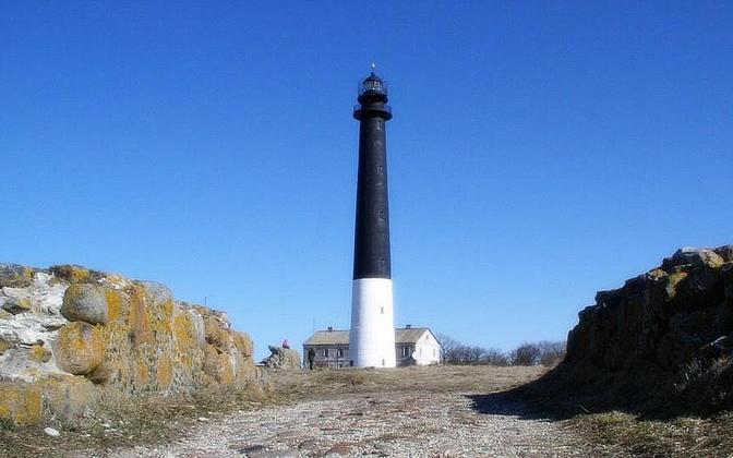 Sõrve Lighthouse in Saaremaa.