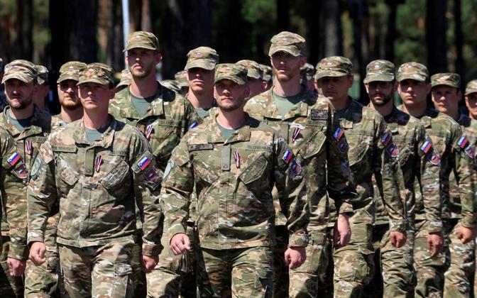 Sloveenia sõjaväelased.