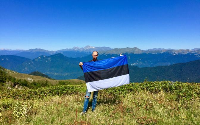 Arnold Rutto visiting his homeland in Abkhazia.
