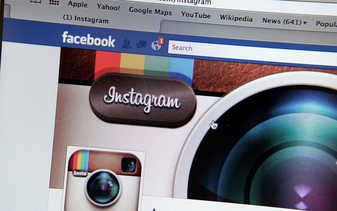 Facebook ja Instagram.