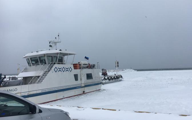 The Wrangö in port.