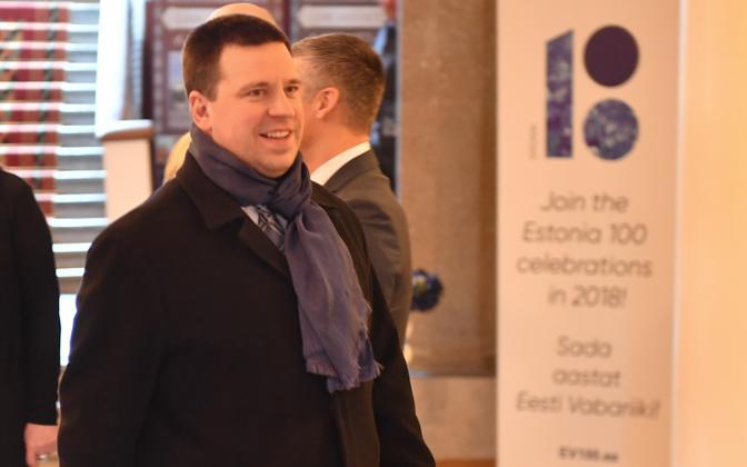 Prime Minister and Center Party chairman, Jüri Ratas.