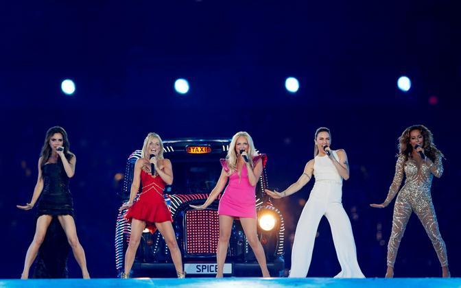 Spice Girls 2012. aastal Londoni olümpiamängude ajal