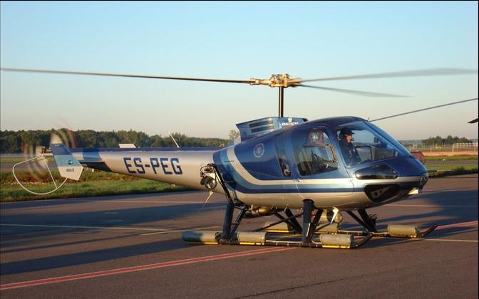 PPA helicopter. Photo is illustrative.
