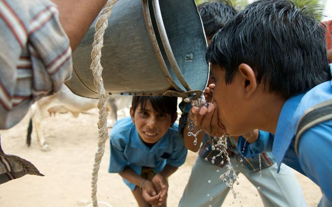 Ökosüsteemides on protsessid seotud, nii et kliimamuutused ja veepuudus võivad olla inimkonna jaoks reaalsed ohud.