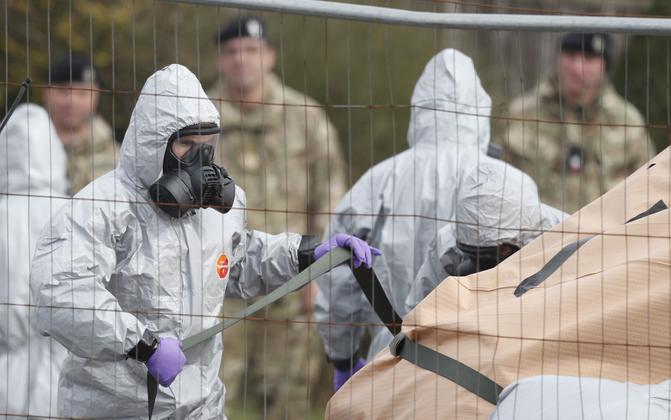 Briti sõjaväelased mürgitatud Sergei Skripali autoga.
