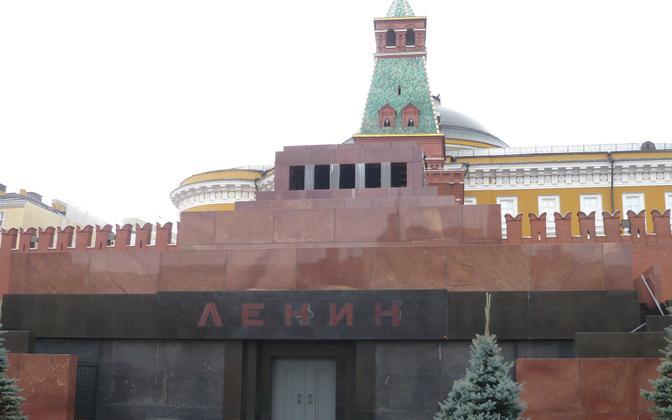 Мавзолей Ленина на Красной площади.