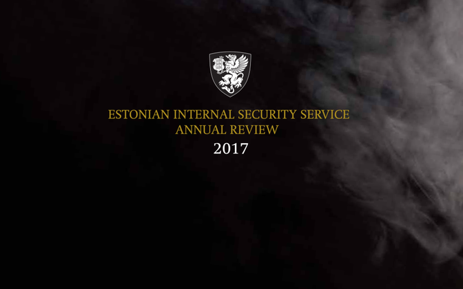 The Internal Security Service published its annual review of 2017 on Apr. 12, 2018.