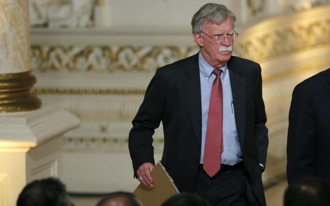USa rahvusliku julgeoleku nõunik John Bolton.