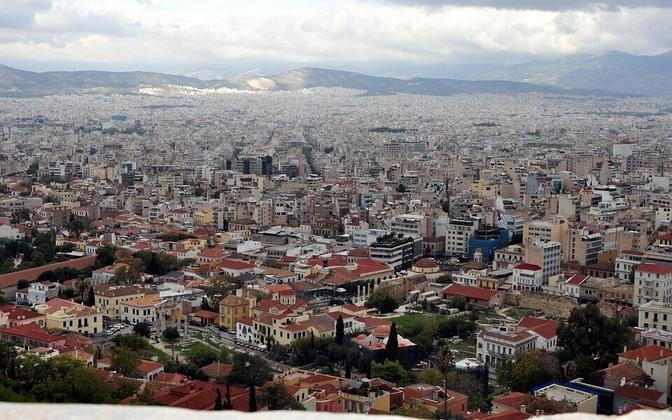 Афины. Иллюстративная фотография.