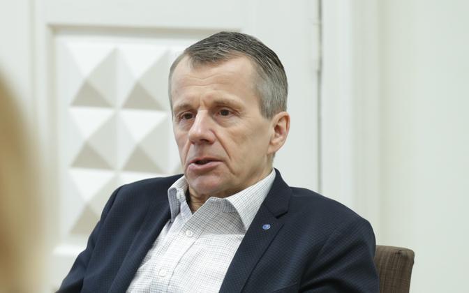 MP Jürgen Ligi (Reform).