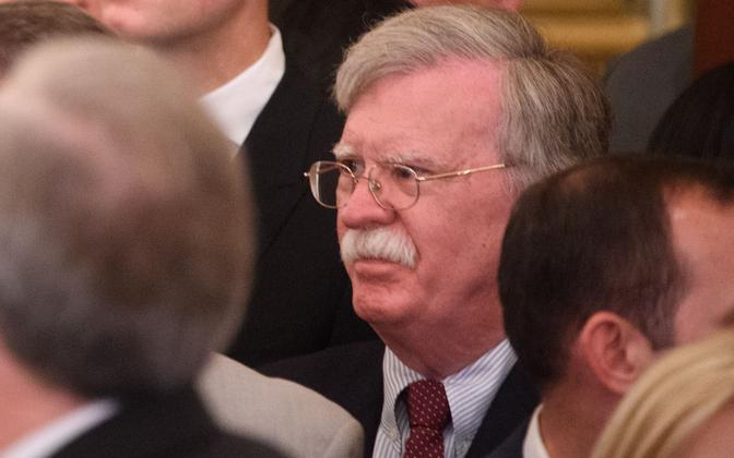 USA riikliku julgeoleku nõunik John Bolton.