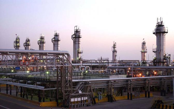 Abqaiqi naftatöötlustehas Saudi Araabias.