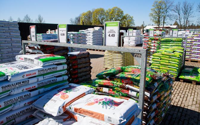 Hansaplanti aianduskaupade pood Tallinna lähistel