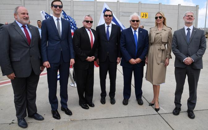 USA delegatsioon Iisraelis.