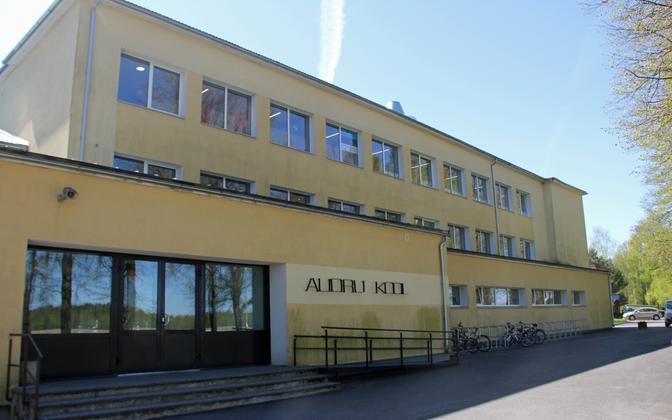 Audru basic school near Pärnu.