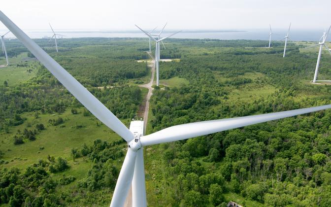 Paldiski Wind Farm includes wind turbines owned by both Eesti Energia and, formerly, Nelja Energia.