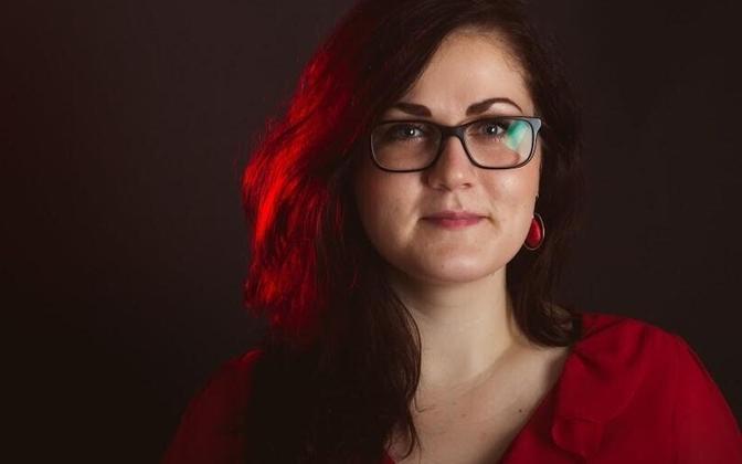 Federation of Estonian Student Unions chair Britt Järvet.