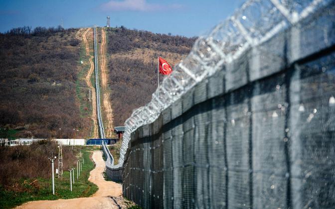 Bulgaaria-Türgi piir.