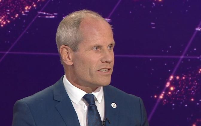 Minister of Finance Toomas Tõniste
