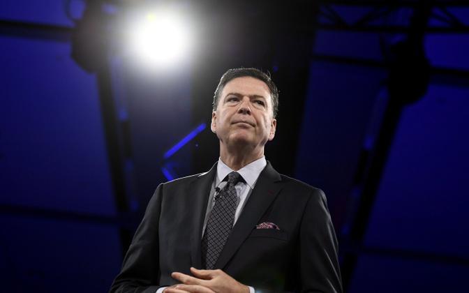 Endine FBI direktor James Comey.