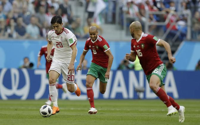 Maroko - Iraan jalgpall