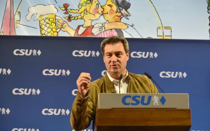 Baieri liidumaa peaminister Markus Söder (CSU).