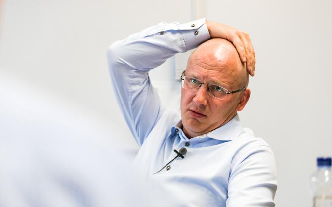 Priit Alamäe oli Eesti 200 suurim rahastaja.