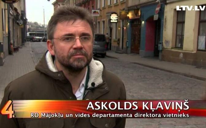 Läti rahvasaadik (ZZS) Askolds Kļavinš.