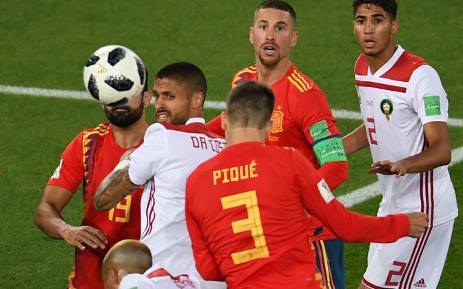 Hispaania - Maroko jalgpall