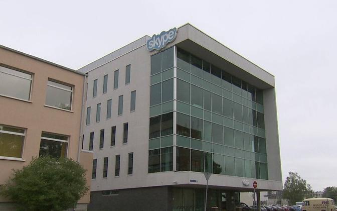 Skype'i kontorihoone Tallinnas.