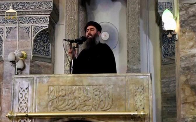 ISIS-e juht Abu Bakr al-Baghdadi.