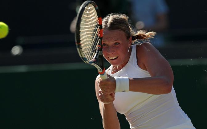Anett Kontaveit at Wimbledon