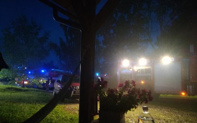 Пьяный мужчина поджёг дом Хедвиг Хансон