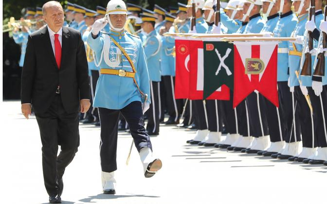 President Erdogan saabumas 7. juulil Türgi parlamenti.