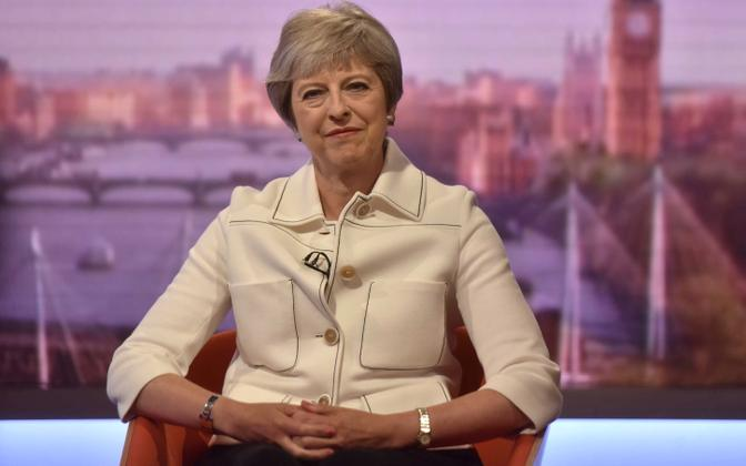 Briti peaminister Theresa May andis intervjuu BBC-le.