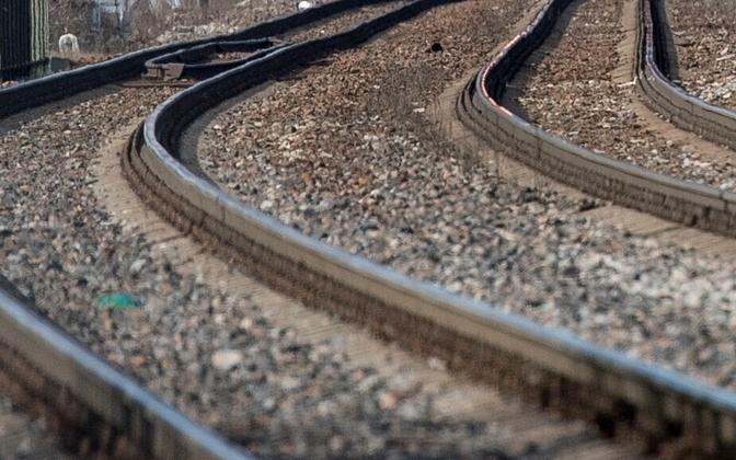 Rails. Photo is illustrative.