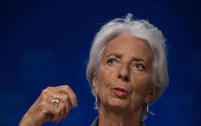 IMF-i juht Christine Lagarde.