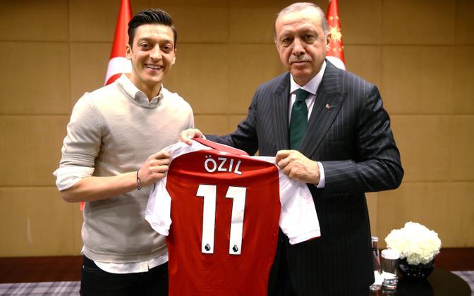 Mesut Özil ja Türgi president Tayyip Erdogan