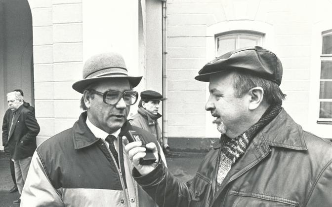 Endel Paap ja Lembit Annus aastal 1993.