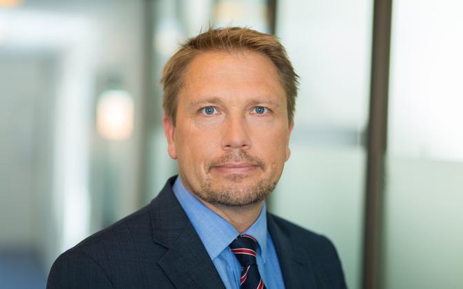 Tallinna Vesi CEO Karl Heino Brookes.