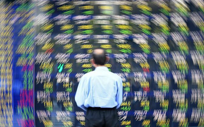 Jaapanlane Tokyo börsil toimuvat jälgimas.