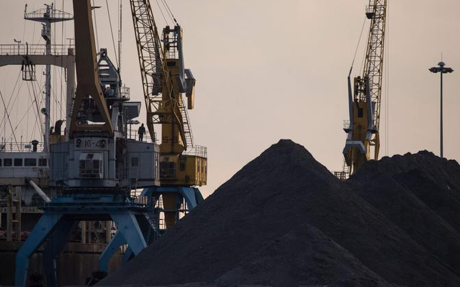 Põhja-Korea kivisüsi Rasoni majandustsoonis.