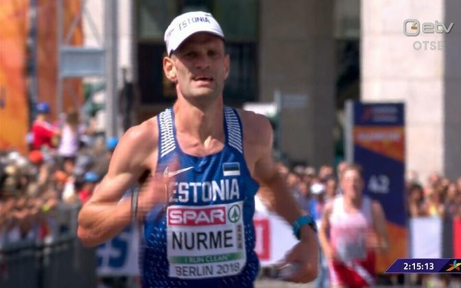 Tiidrek Nurme EM-i finišis