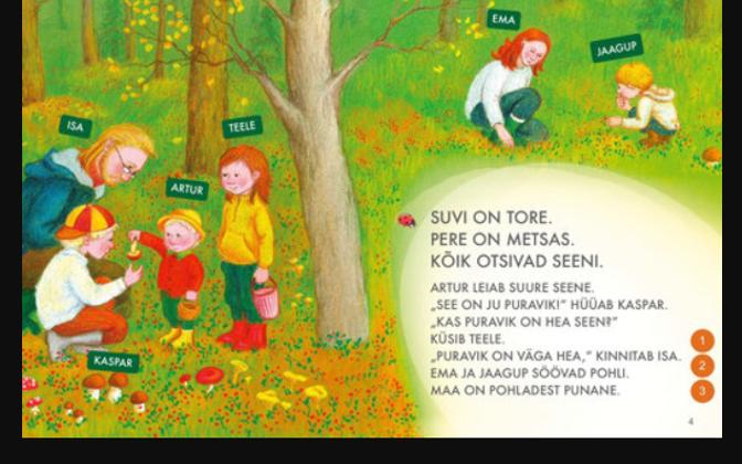 Õppematerjali näide Koolibri kirjastuses välja antud digiaabitsast