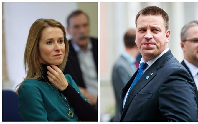 Both party leaders are young and have their own very different appealing points. But Jüri Ratas seems to have more to smile about at the moment.