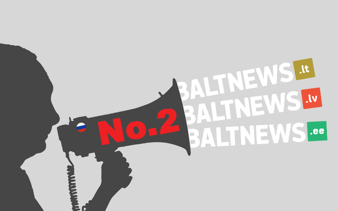 Baltnews, seeimgly funded by money from the Russian Federation, continues to be online in all three Baltic states.